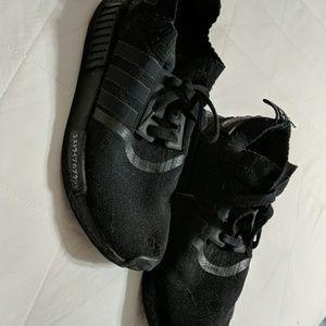 Japanese black Adidas NMDs